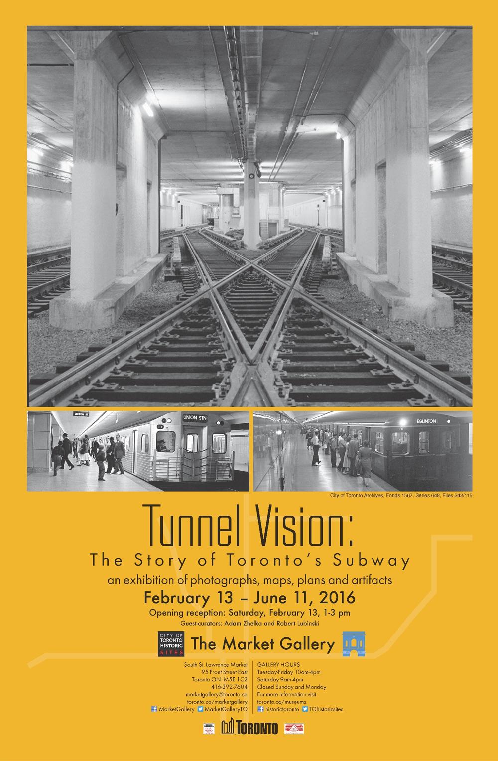 Toronto Subway Map Poster.Tunnel Vision The Story Of Toronto S Subway Pivot Design Group