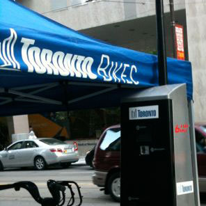 Support Bike Sharing in Toronto