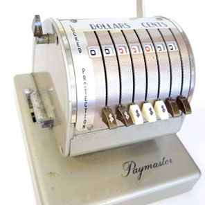 Museum Objects: Paymaster X-550