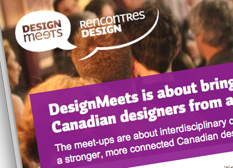 DesignMeets: A new direction for community events in 2013
