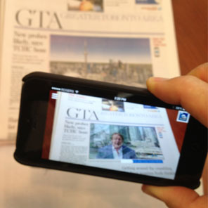 Augmented Reality… Newspaper?