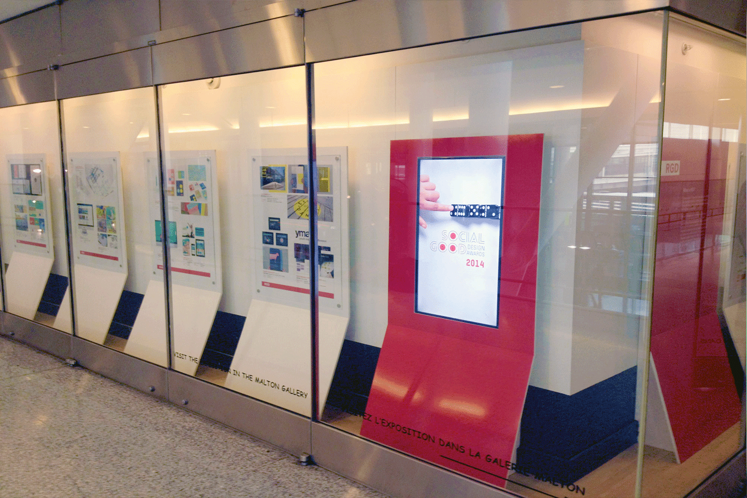 Our Work Featured at Pearson International Airport