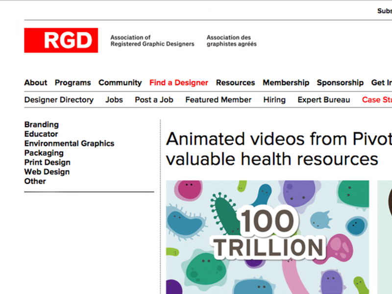 Featured: Pivot's work on CDHF's Microbiome video series on RGD