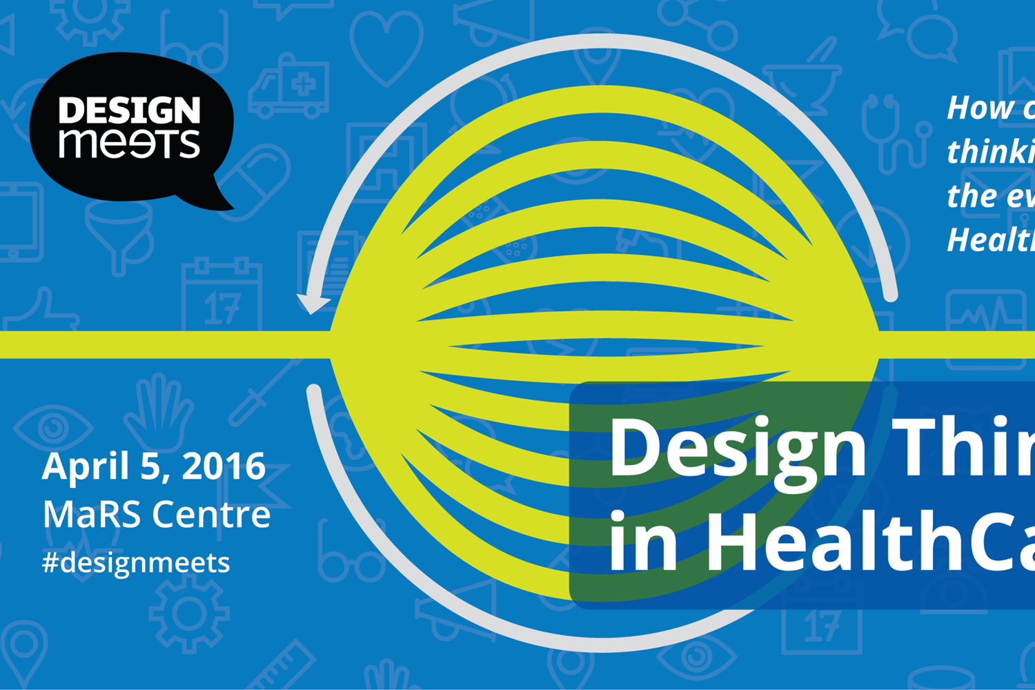 Join us for our upcoming DesignMeets event on April. 5th, 2016!