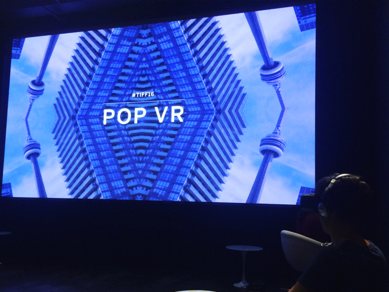 Pivot's Virtual Reality Experience at TIFF
