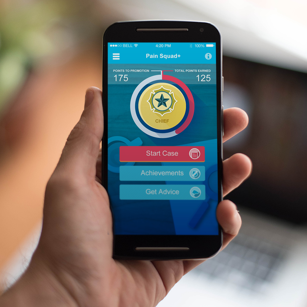 UX & Gamification Improves Pain Management for Kids