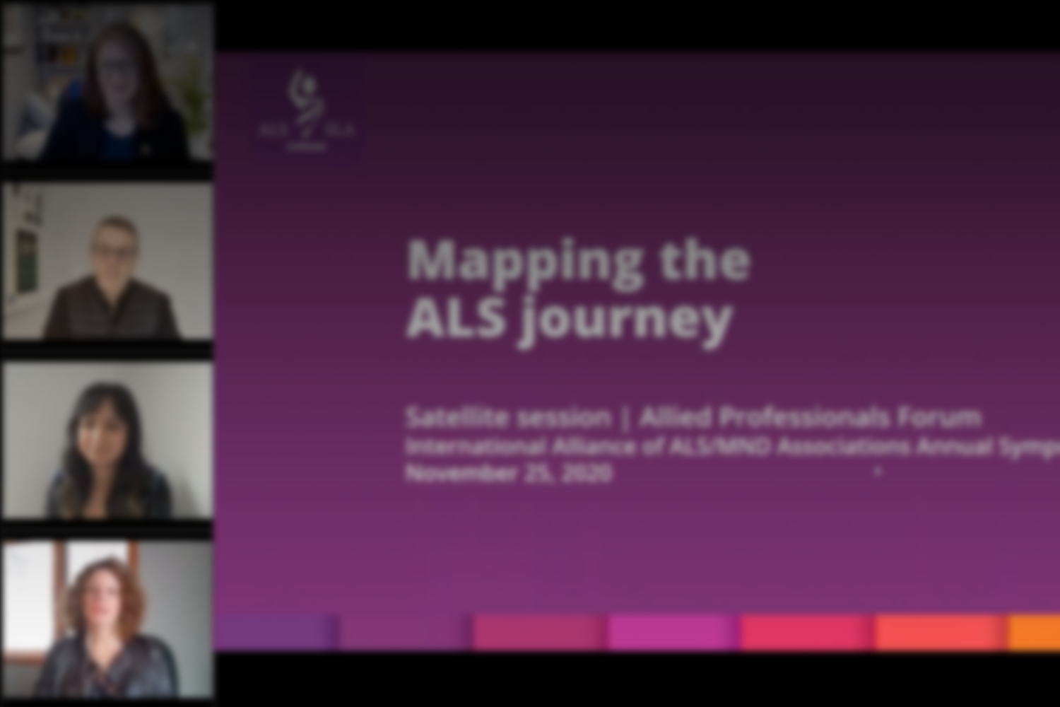 Mapping the ALS Canada Journey Presentation