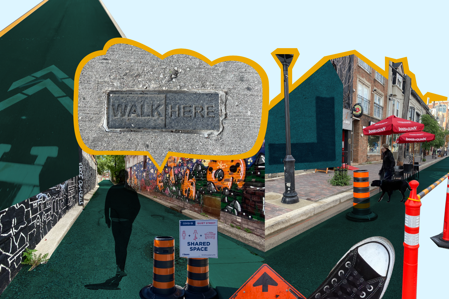 Public Spaces and Walkable Places – Sidewalks and the Return of Community